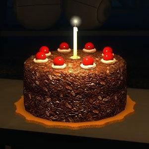 La tarta <B>NO</B> es una mentira.